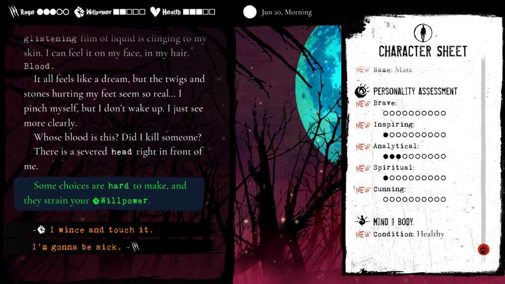 werewolf the apocalypse heart of the forest meniac recensione 1