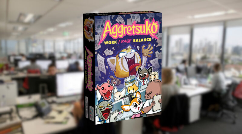 Aggretsuko card game meniac news