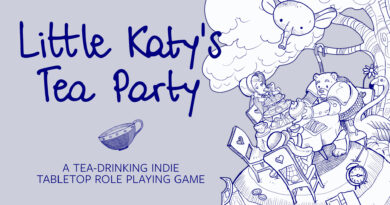 Little Katy s Tea Party RPG meniac news cover