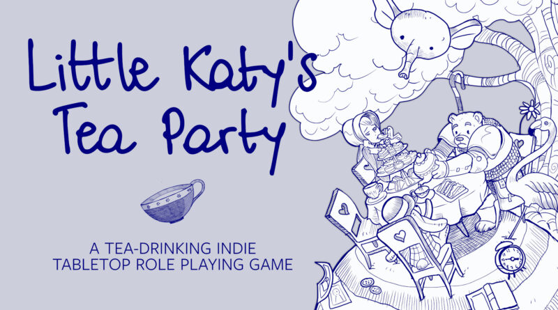 Little Katy s Tea Party RPG meniac news cover