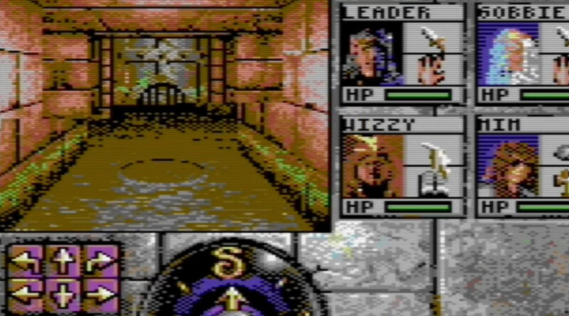 Eye of the Beholder C64 meniac news