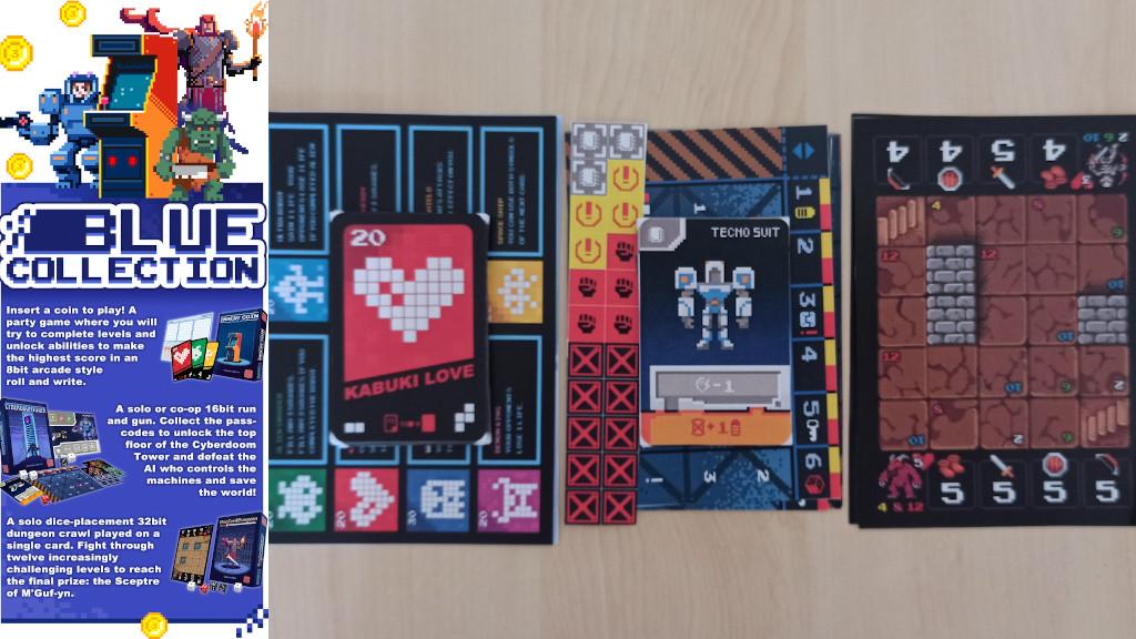 arcade blue collection meniac preview cover