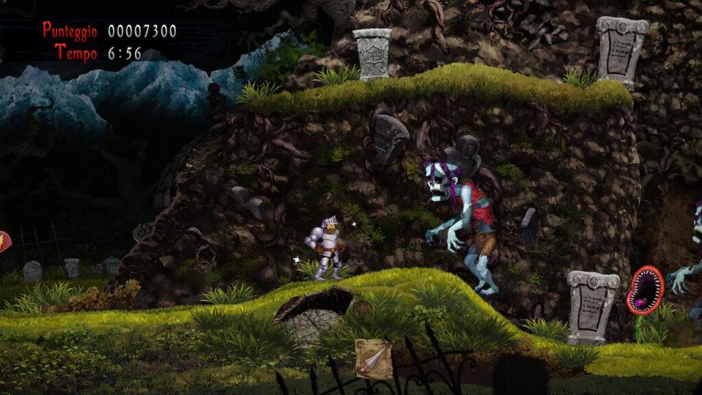 ghost n goblins resurrection meniac recensione 1