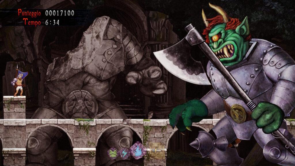 ghost n goblins resurrection meniac recensione 4