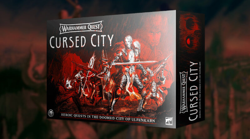 warhammer quest cursed city meniac news 1
