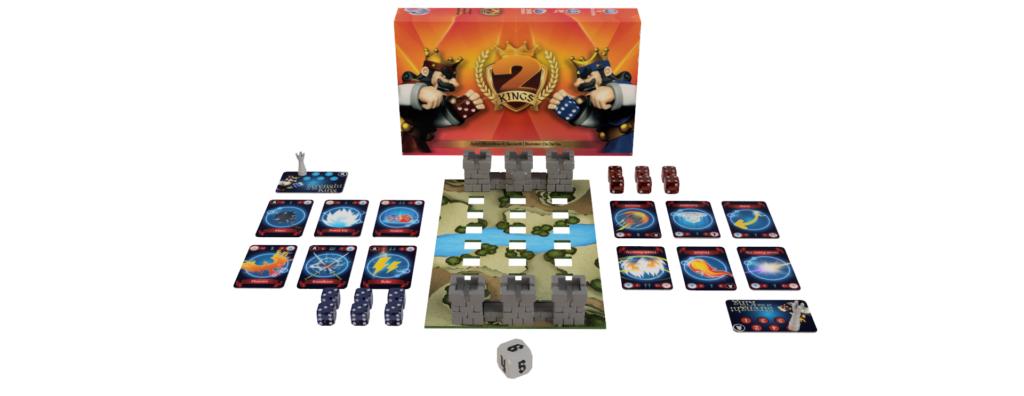 2 kings single deck no box kickstarter meniac news 3