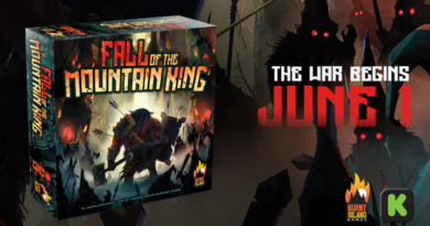 Fall of the Mountain King kickstarter menaiac news