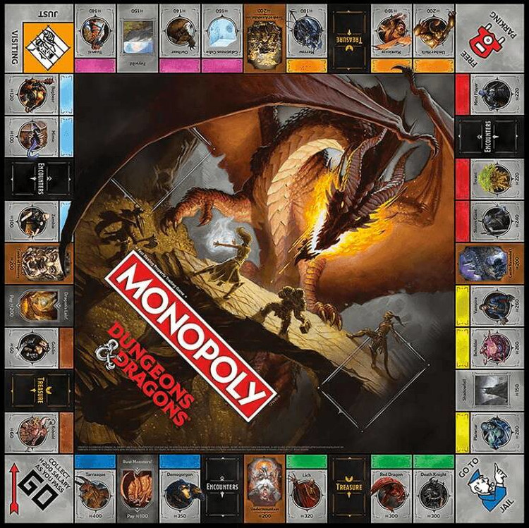 monopoly dungeons and dragons meniac news 1