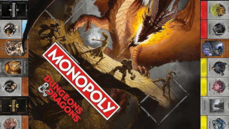 monopoly dungeons and dragons meniac news