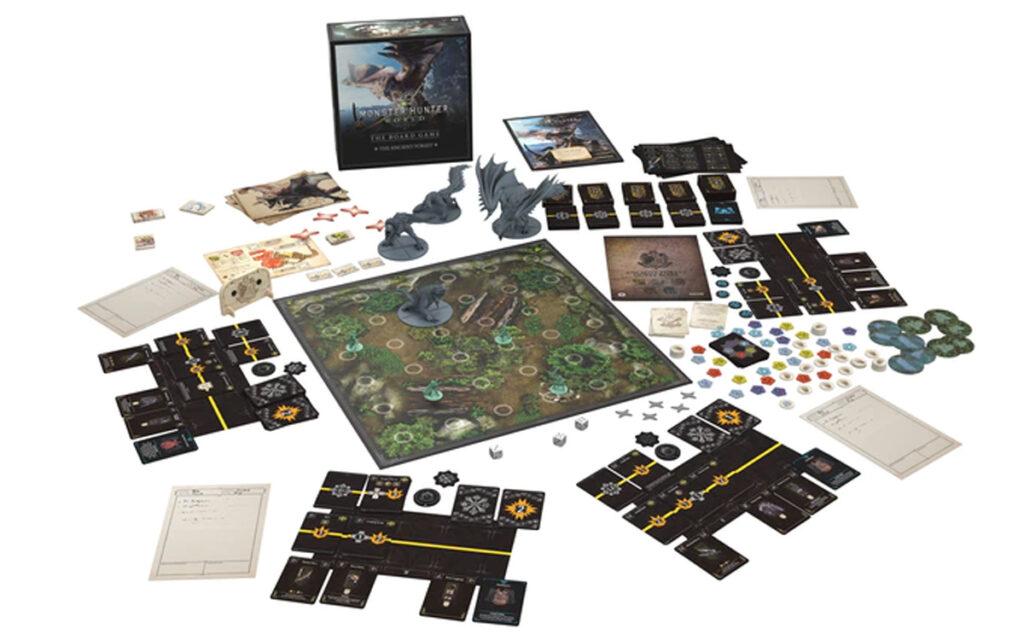 monster hunter world the board game kickstarter meniac news 3