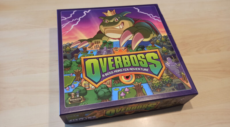 overboss a boss monster adventure meniac recensione