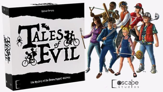 tales of evil boardgame