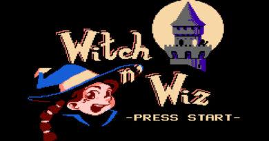 witch n wiz NES game meniac news