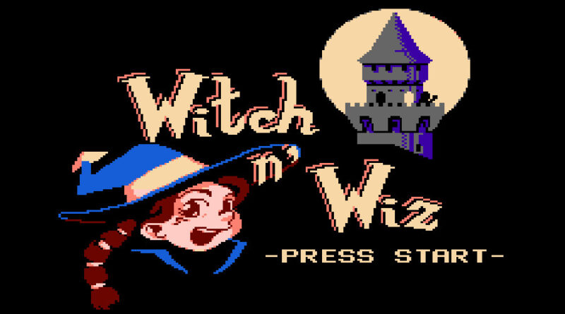witch n wiz NES game meniac news