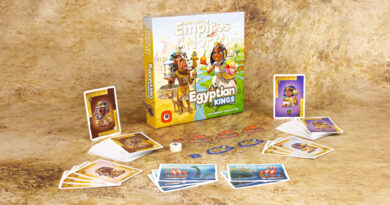 Empires of the North Egyprion Kings meniac news cover