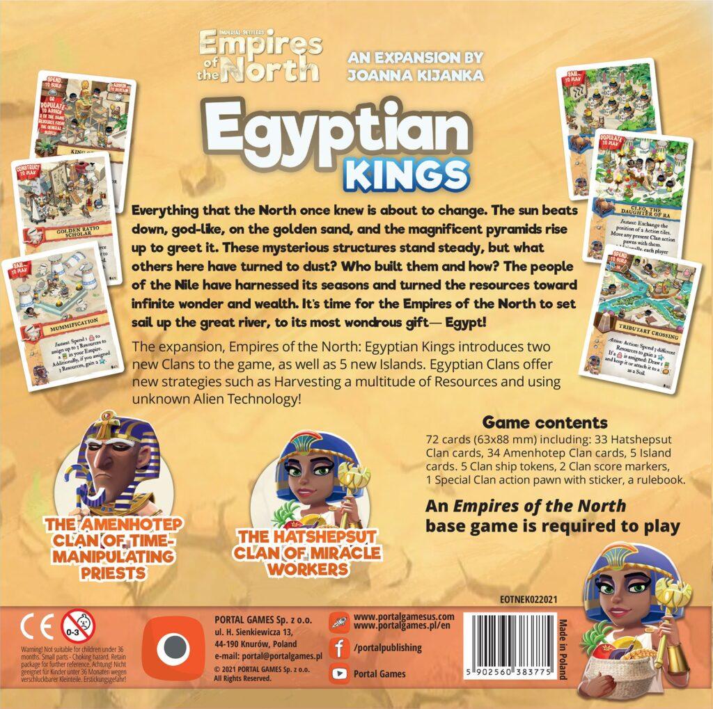 Empires of the North Egyptian Kings meniac news 1