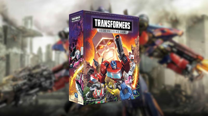 Transformer Deck Building Game meniac news 1
