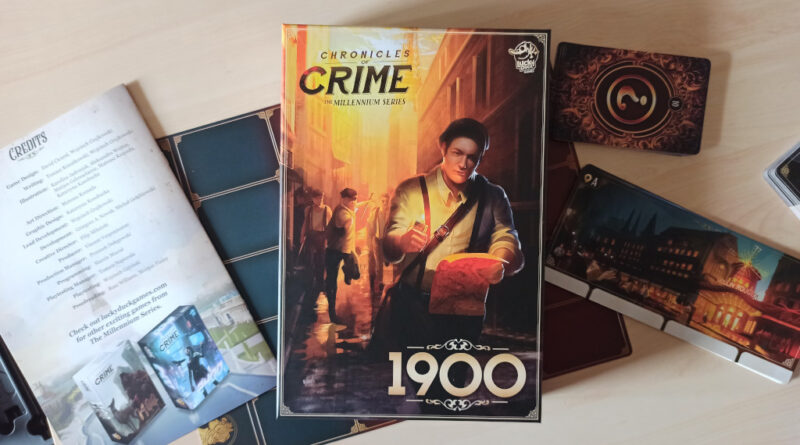 chronicles of crime 1900 meniac recensione cover