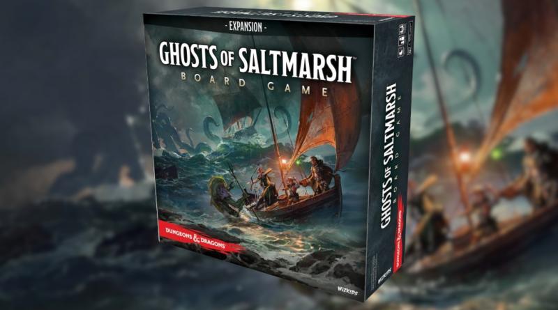 Ghosts of Saltmarsh meniac boardgames news