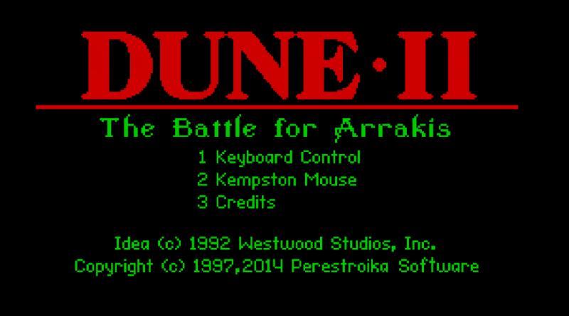 dune II battle for arrakis meniac news 1