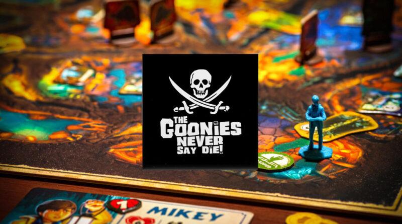 the goonies never say die boardgame meniac news