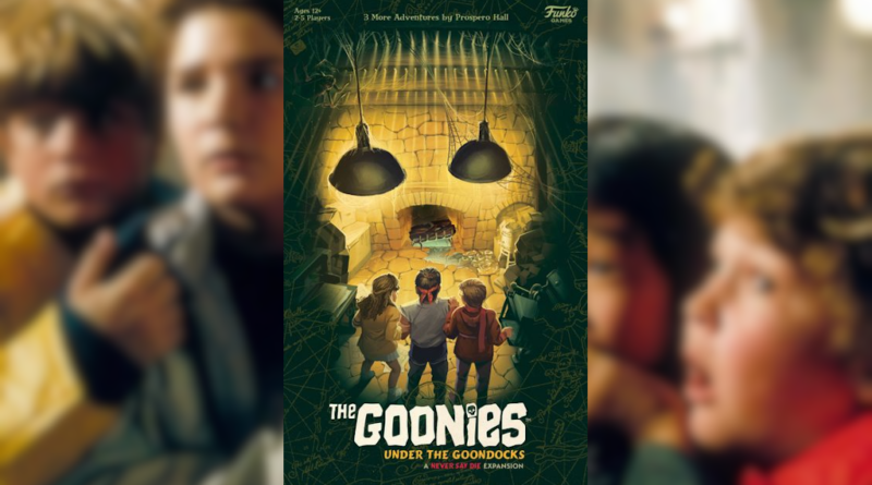 the goonies under the goondocks meniac boardgame news