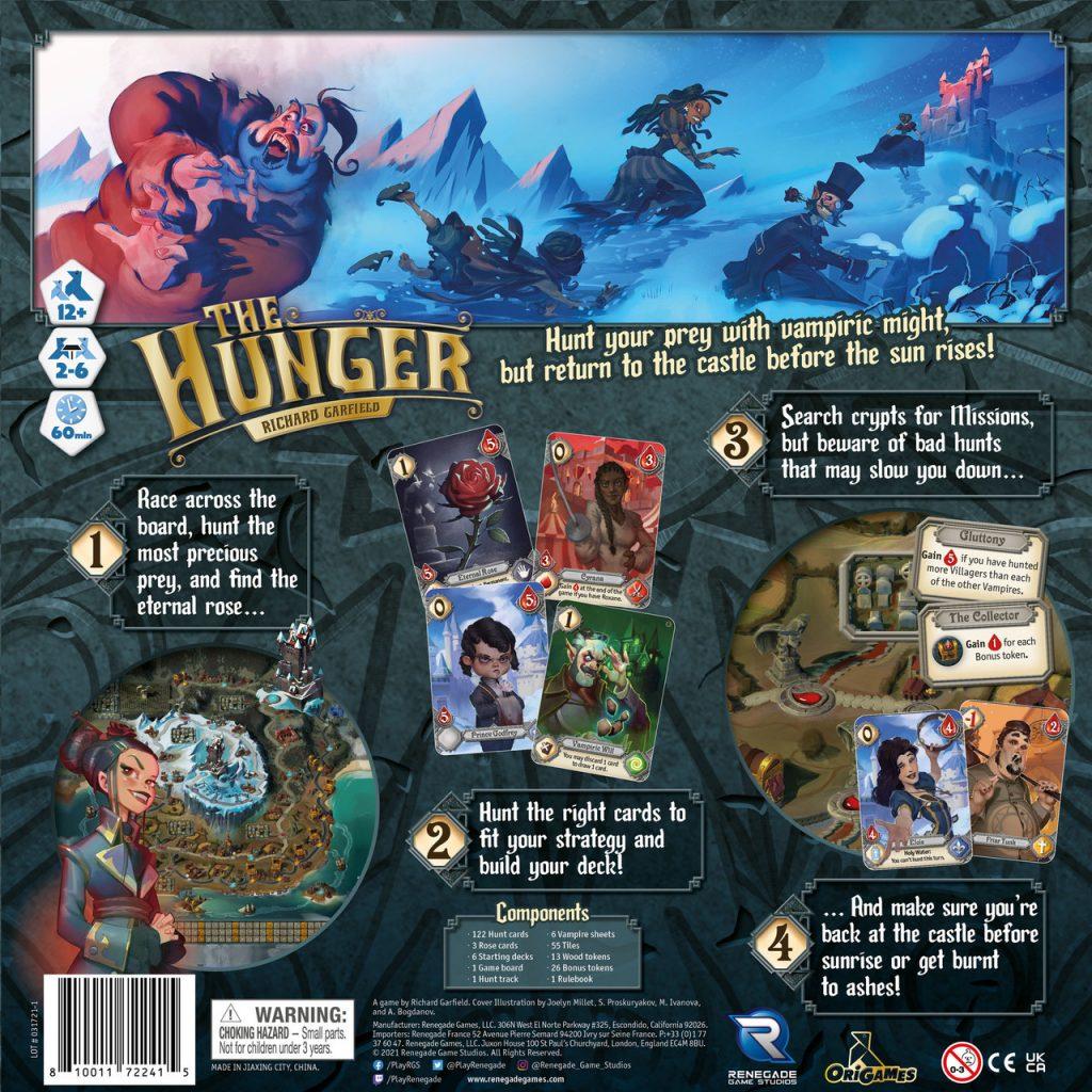 the hunger meniac boardgames news 1