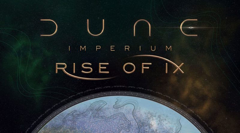 Dune Imperium Rise of Ix menaic news