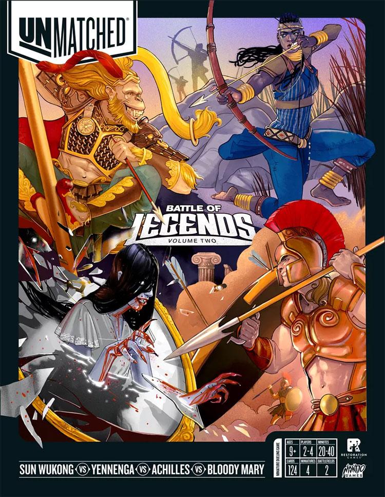 Unmatched battle of legends vol 2 meniac news 3