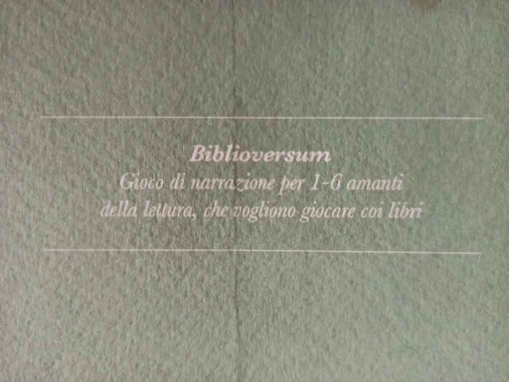 biblioversum meniac recensione 2