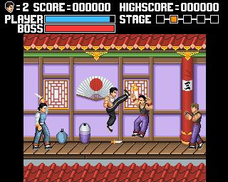 Kung Fu Remaster amiga news meniac 1