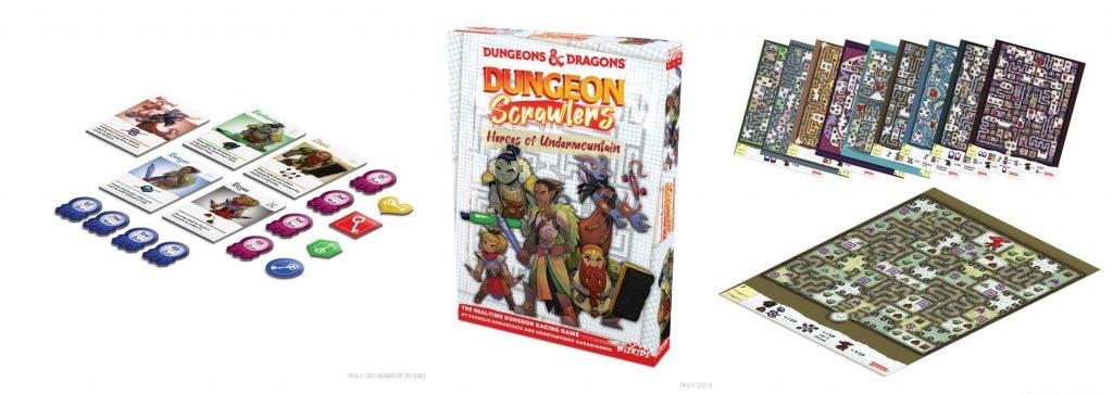 Dungeons & Dragons Dungeon Scrawlers Heroes of Undermountain meniac news 1