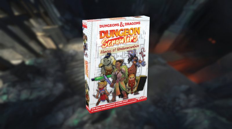 Dungeons & Dragons Dungeon Scrawlers Heroes of Undermountain meniac news cover
