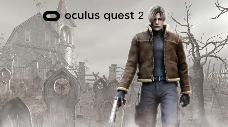 Resident Evil 4 VR Oculus Quest 2 meniac news
