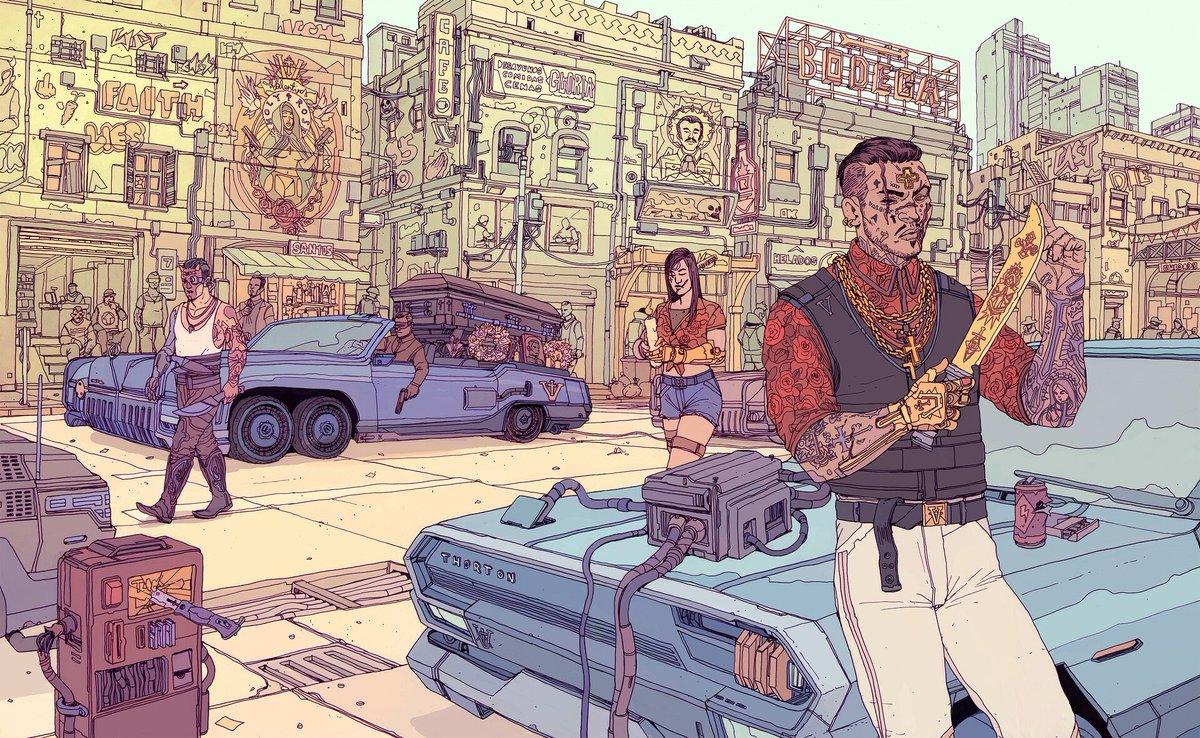 cyberpunk gangs of night city boardgames meniac news