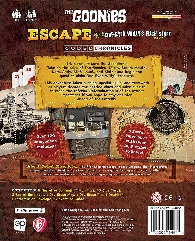 the goonies escape with one-eyed willy the op meniac news 2