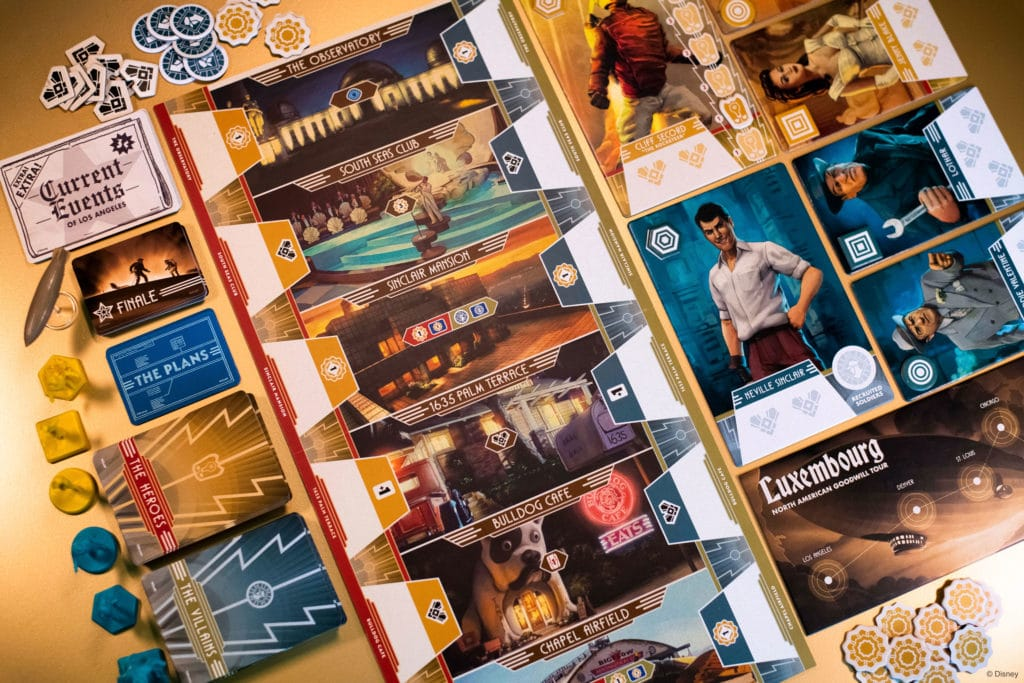 the rocketeer boardgame funko meniac news 2