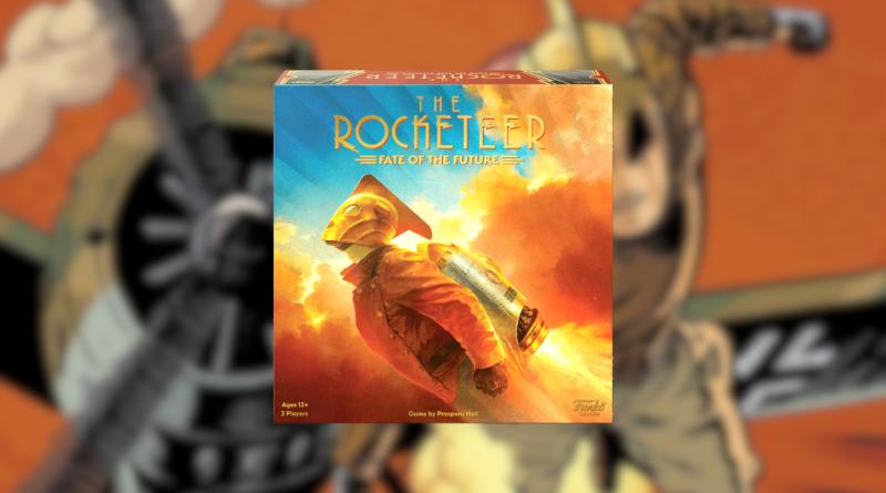 the rocketeer boardgame funko meniac news
